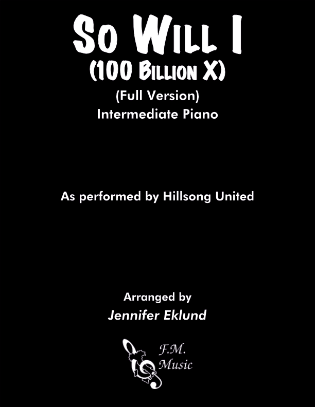 So Will I (100 Billion X) (Full Version - Intermediate)