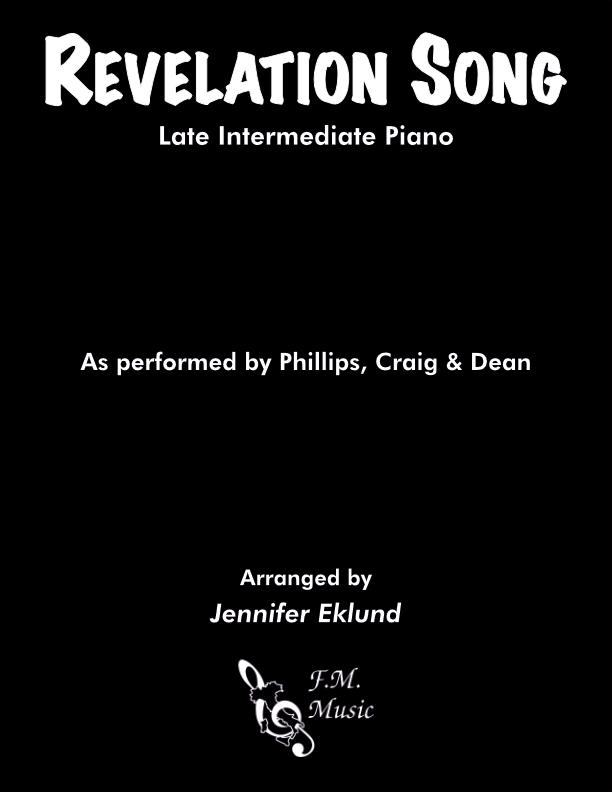 Revelation Song (Late Intermediate Piano)