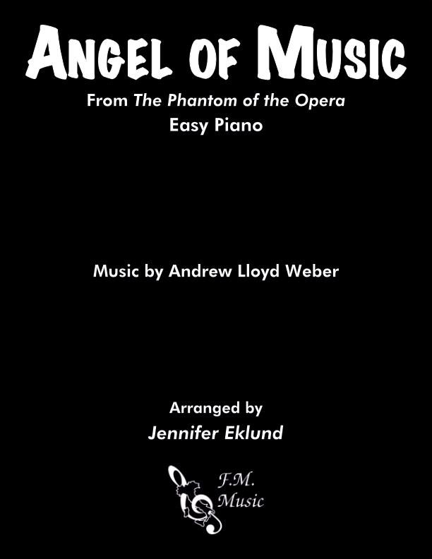 Angel of Music (Easy Piano)