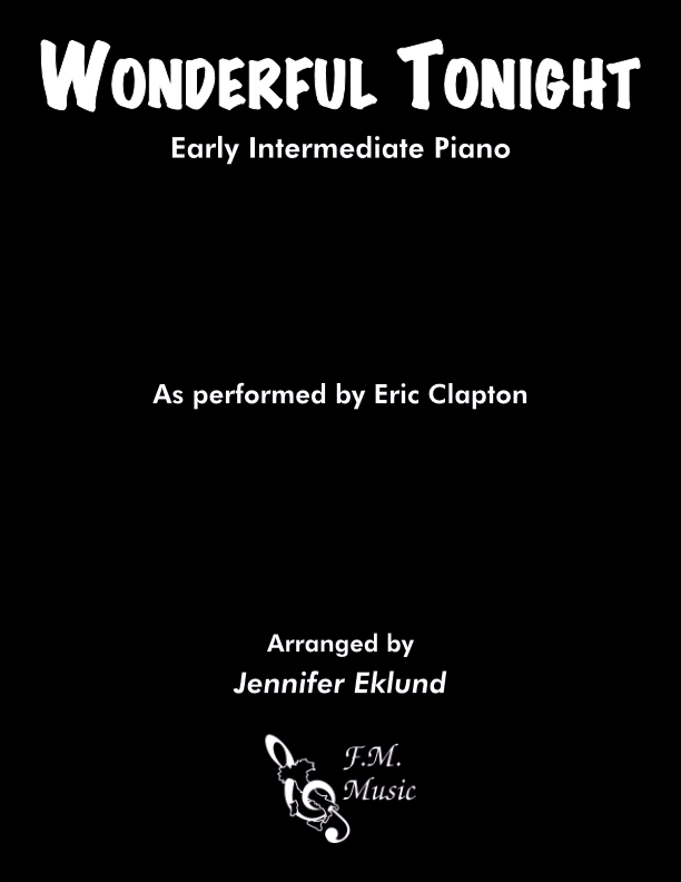 Wonderful Tonight (Early Intermediate Piano)