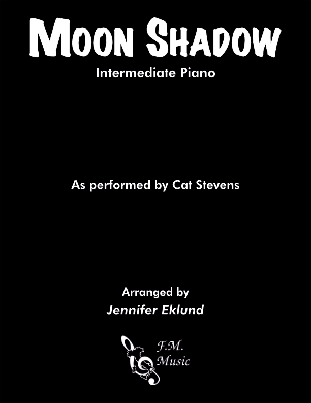 Moon Shadow (Intermediate Piano)