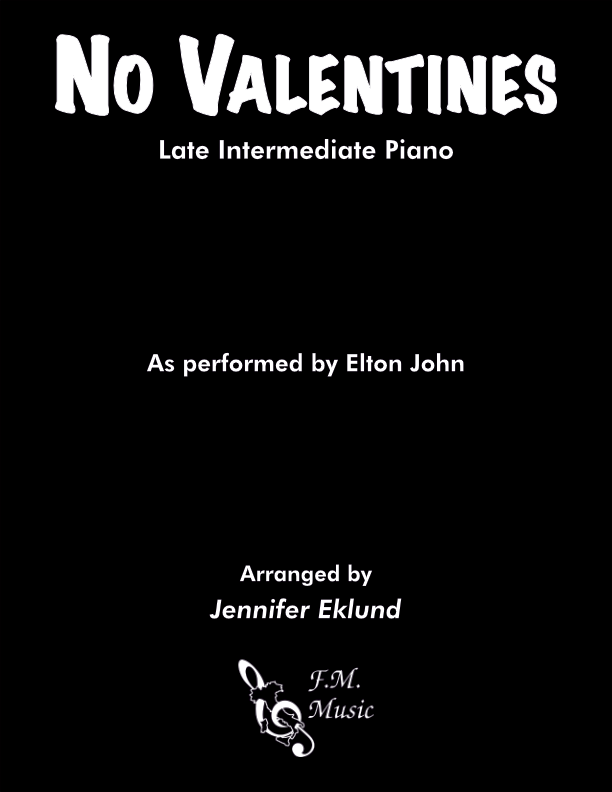 No Valentines (Late Intermediate Piano)
