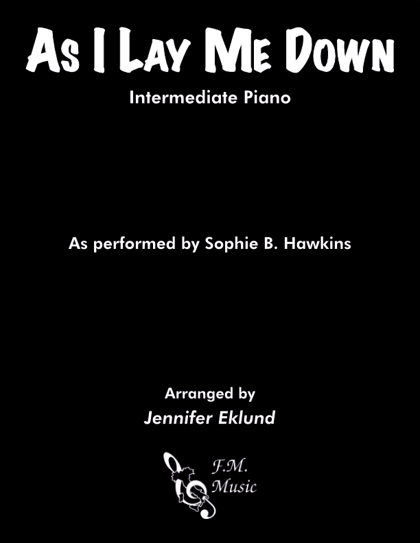 As I Lay Me Down (Intermediate Piano)