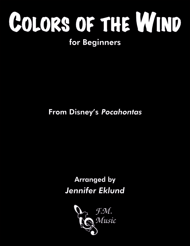 Colors of the Wind (Beginners)