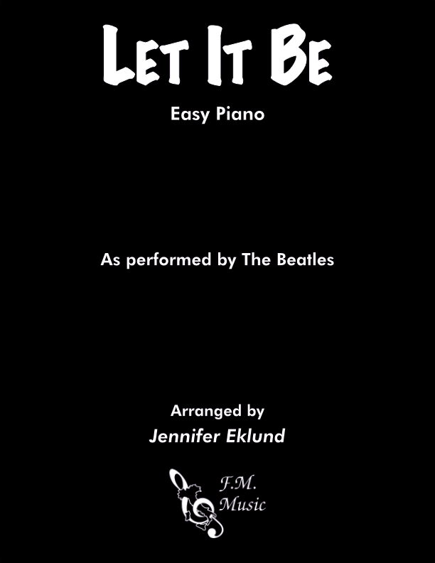 Let It Be (Easy Piano)