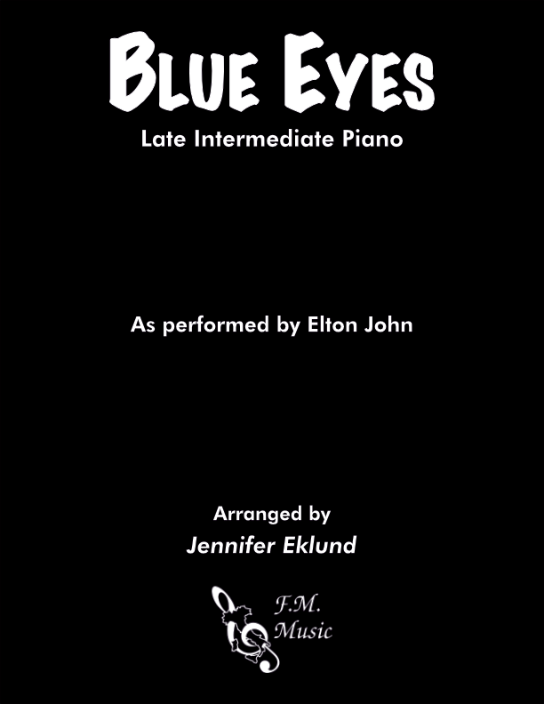 Blue Eyes (Late Intermediate Piano)