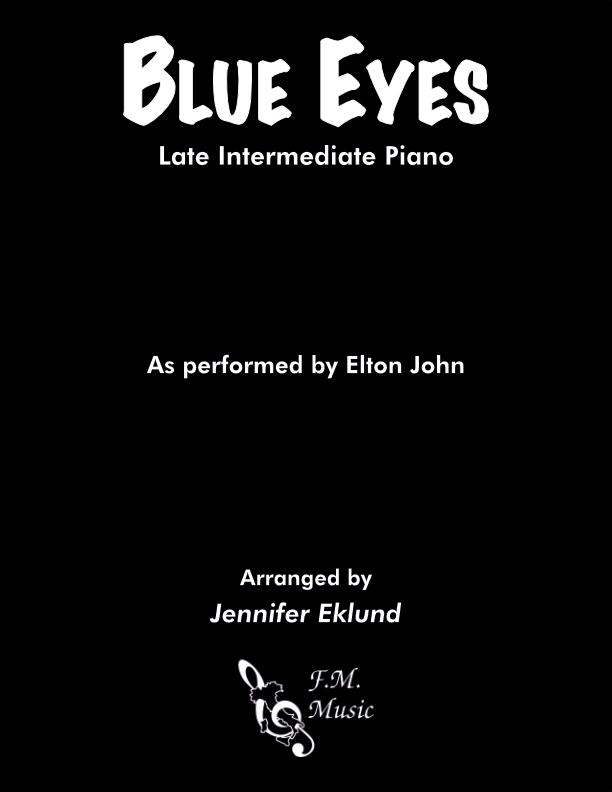 Blue Eyes (Late Intermediate Piano)