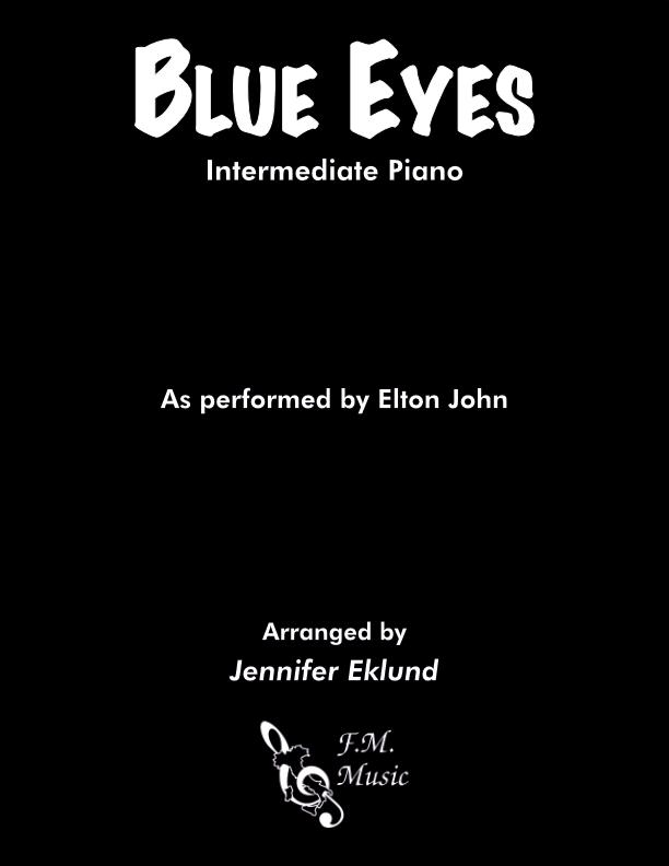 Blue Eyes (Intermediate Piano)
