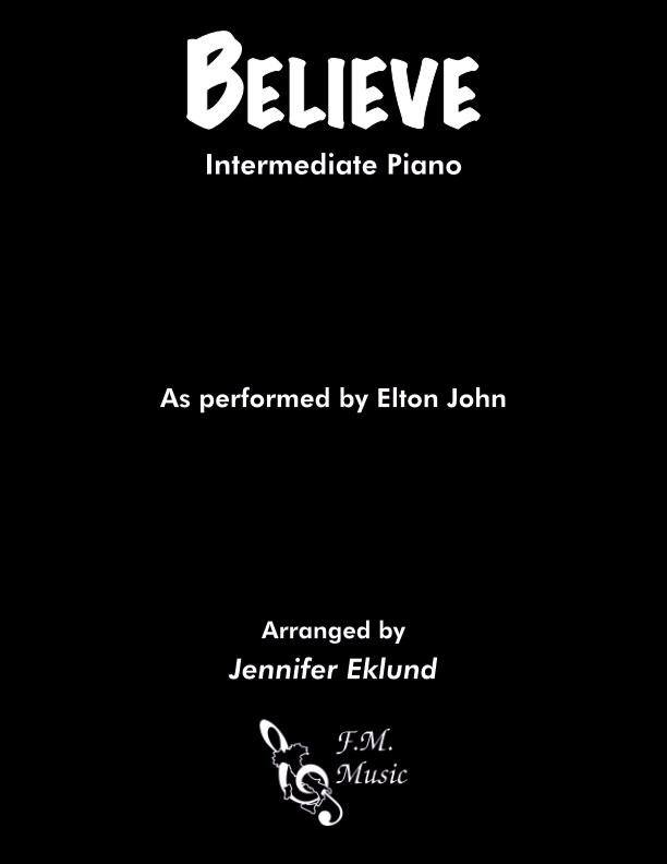 Believe (Intermediate Piano)