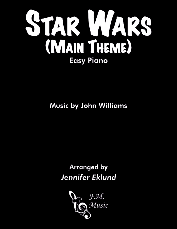 Star Wars: Main Theme (Easy Piano)