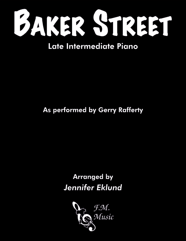 Baker Street (Late Intermediate Piano)
