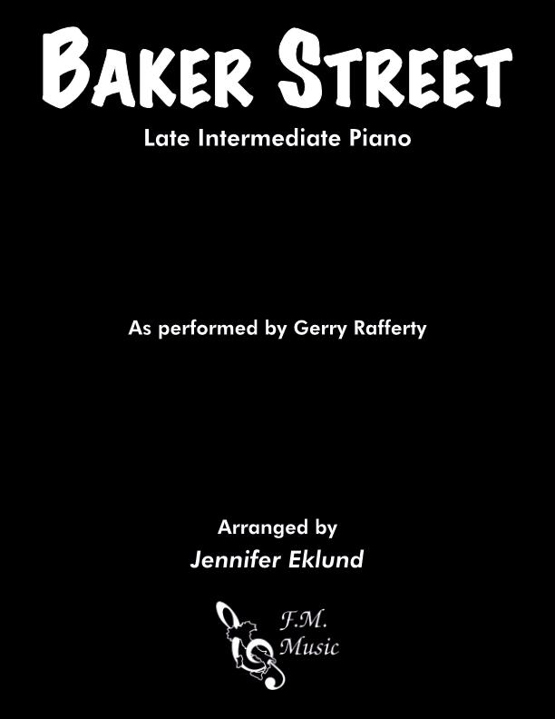 Baker Street (Late Intermediate Piano)