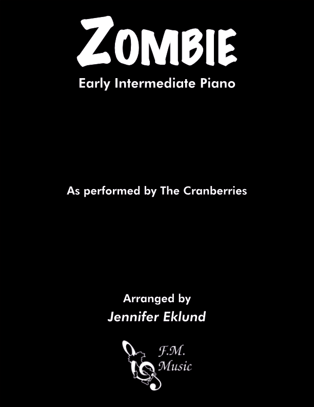 Zombie (Early Intermediate Piano)