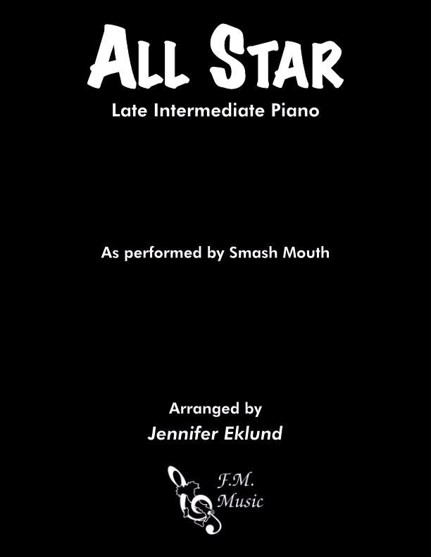 All Star (Late Intermediate Piano)