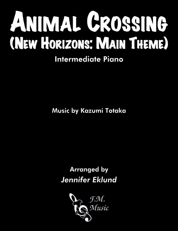 Animal Crossing: New Horizons Main Theme (Intermediate Piano)