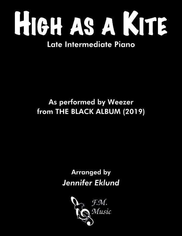 High as a Kite (Late Intermediate Piano)