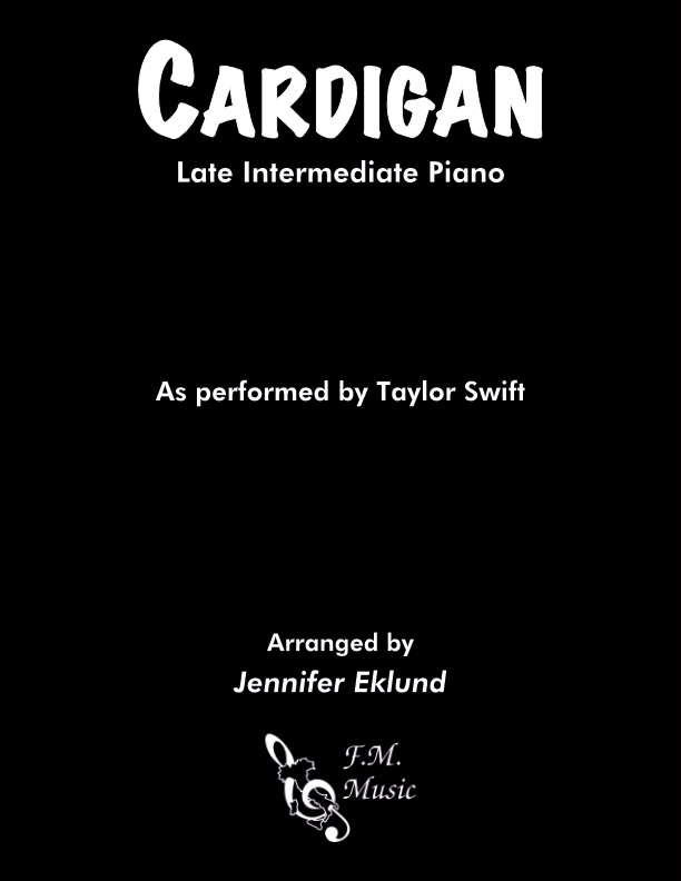 Cardigan (Late Intermediate Piano)