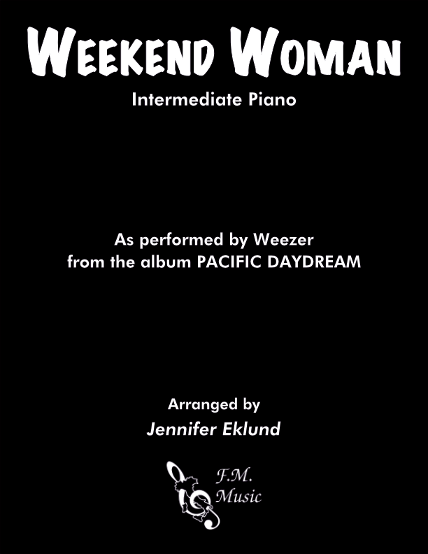 Weekend Woman (Intermediate Piano)