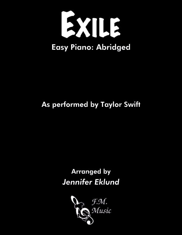 Exile (Easy Piano)