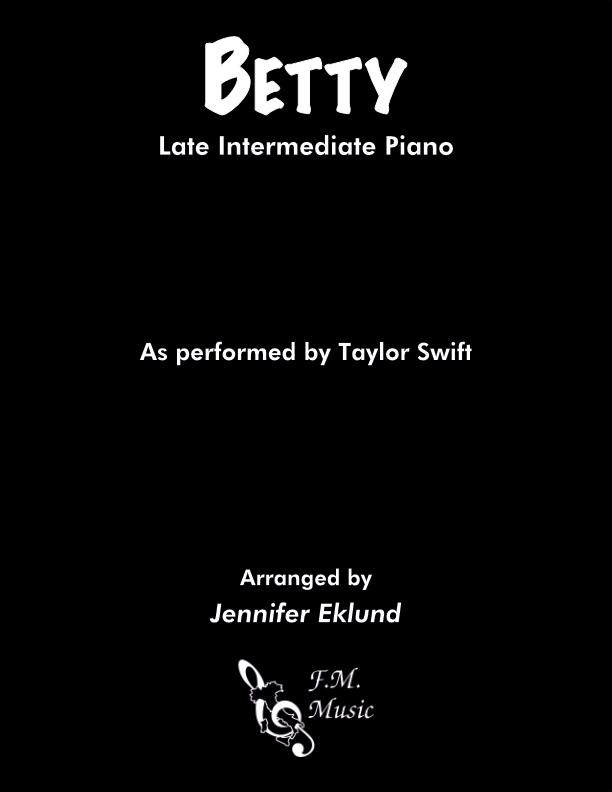 Betty (Late intermediate Piano)