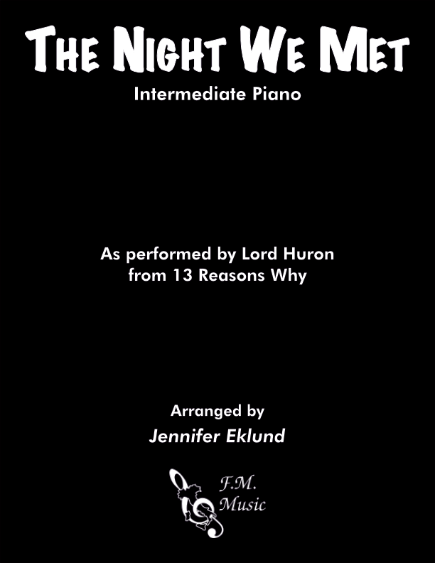 The Night We Met (Intermediate Piano)