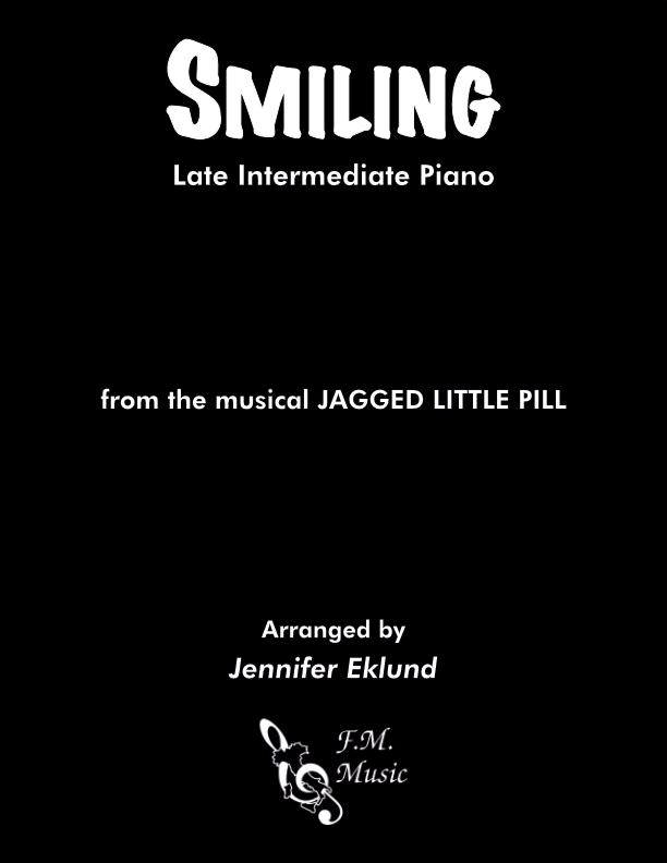 Smiling (from Jagged Little Pill) (Late Intermediate Piano)