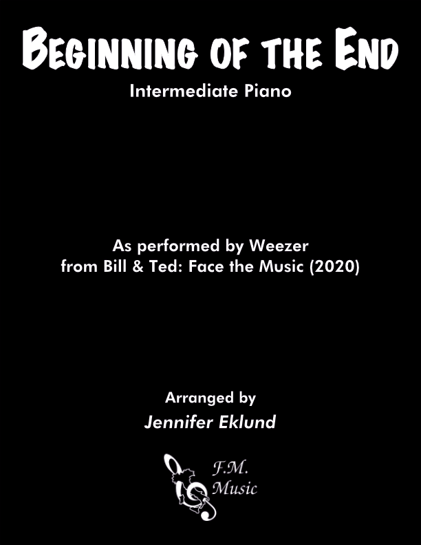 Beginning of the End (Intermediate Piano)