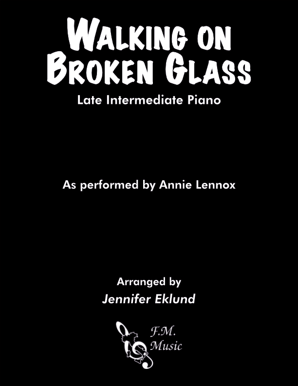 Walking on Broken Glass (Late Intermediate Piano)
