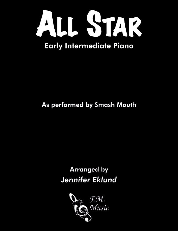 All Star (Early Intermediate Piano)