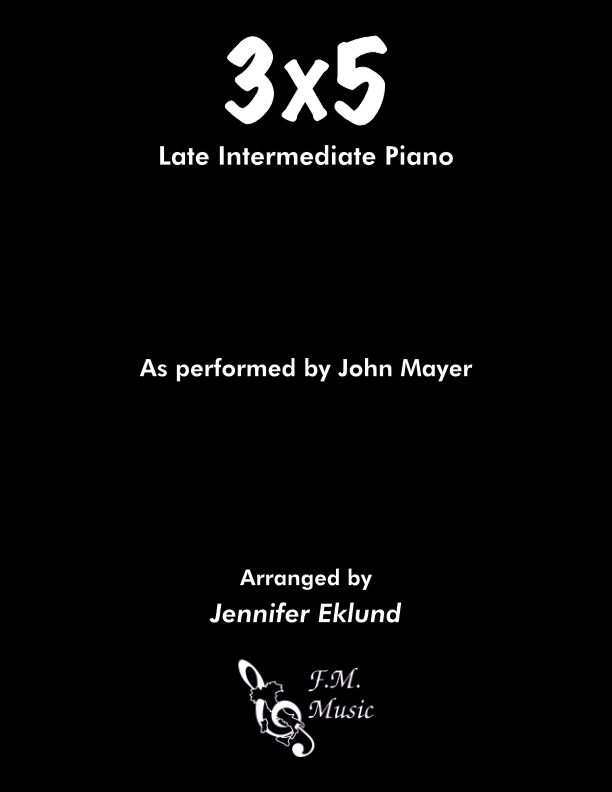 3x5 (Late Intermediate Piano)