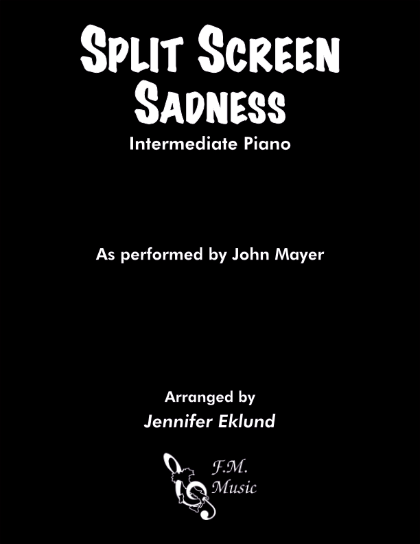 Split Screen Sadness (Intermediate Piano)