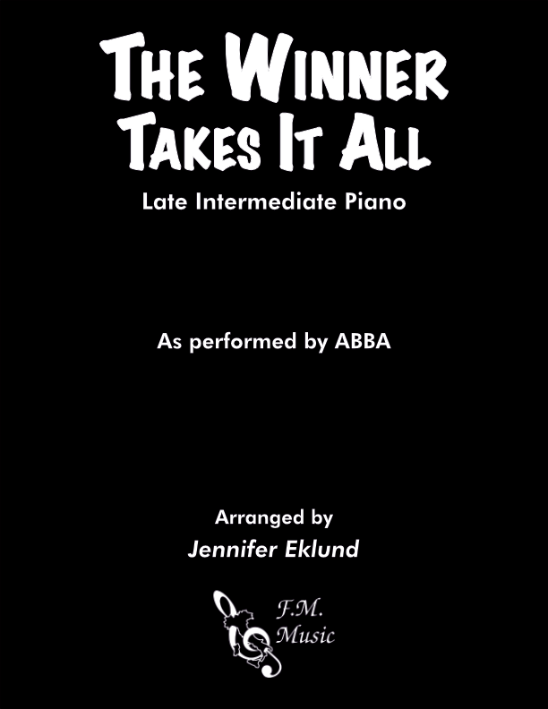 The Winner Takes It All (Late Intermediate Piano)