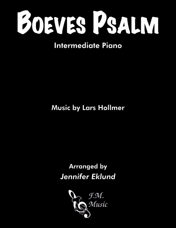 Boeves Psalm (Intermediate Piano)