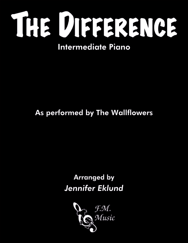 The Difference (Intermediate Piano)