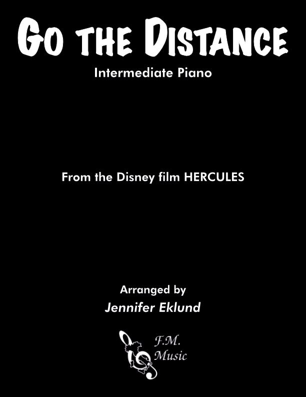 Go the Distance (Intermediate Piano)