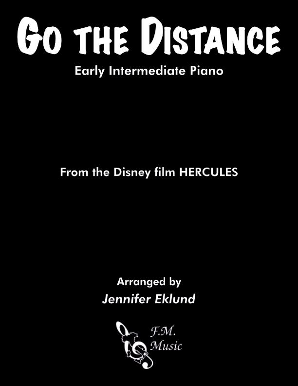Go the Distance (Early Intermediate Piano)