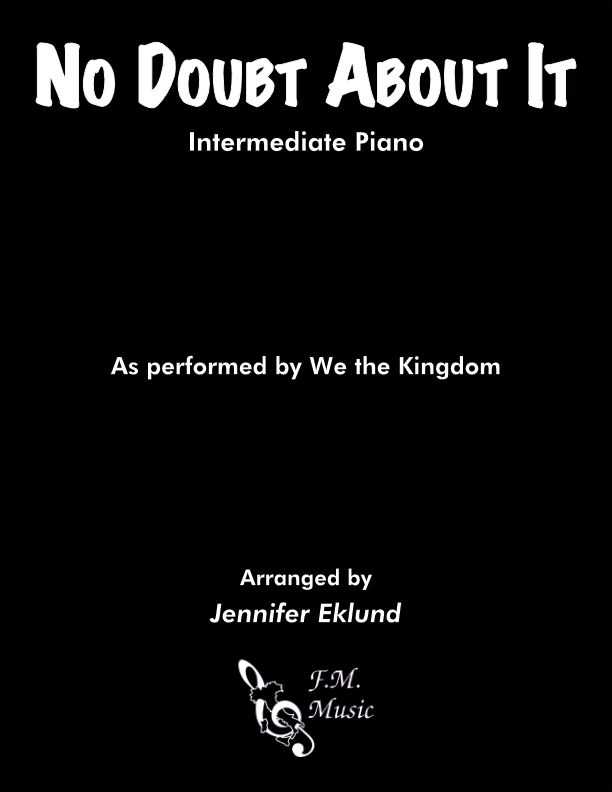 No Doubt About It (Intermediate Piano)