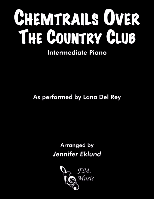 Chemtrails Over the Country Club (Intermediate Piano)