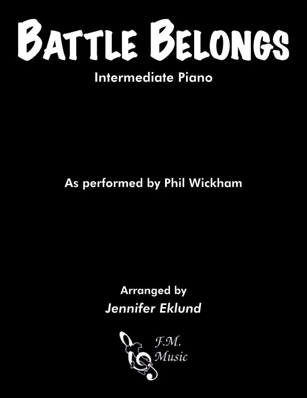 Battle Belongs (Intermediate Piano)