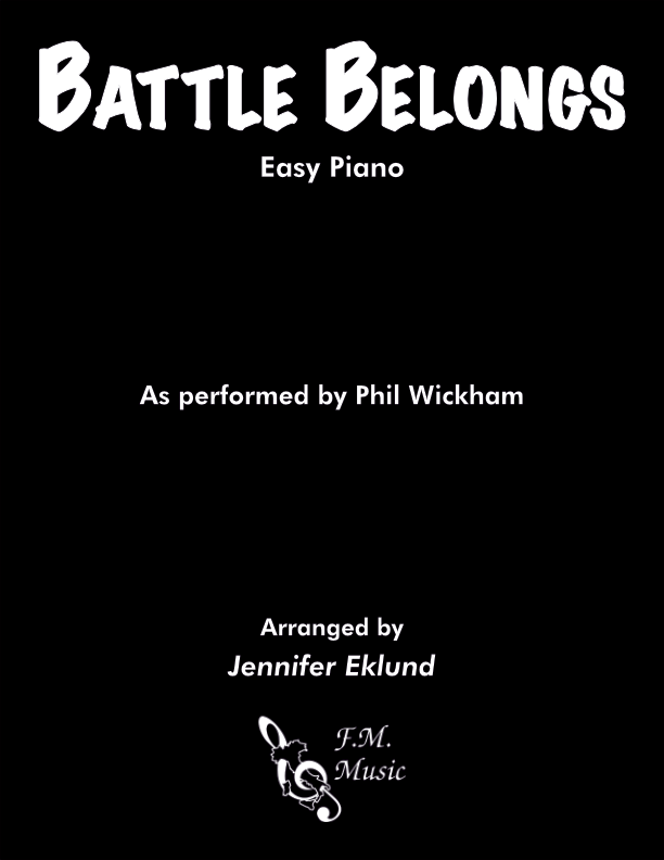 Battle Belongs (Easy Piano)