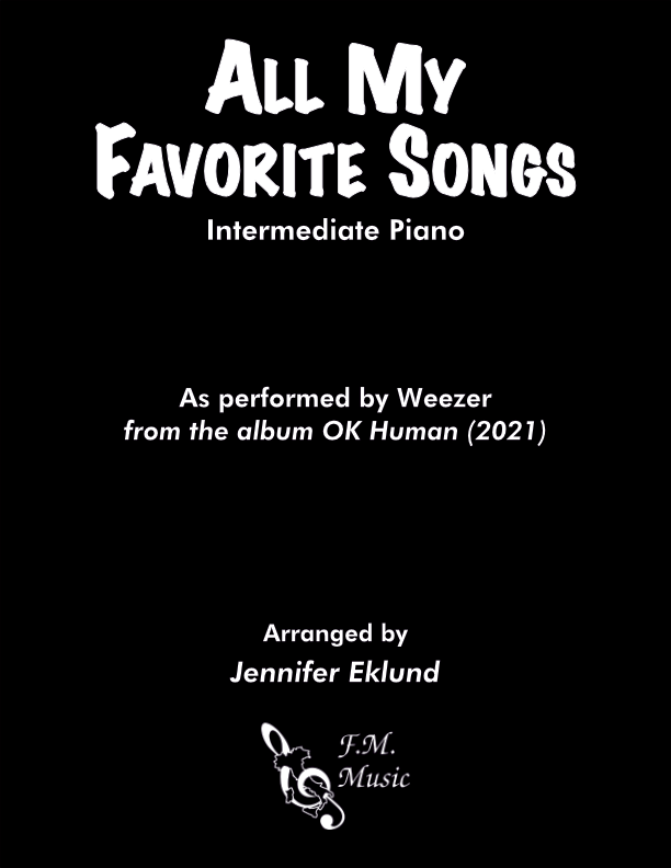 All My Favorite Songs (Intermediate Piano)