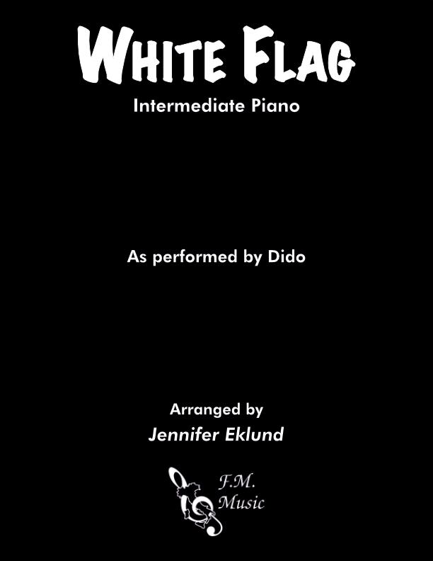 White Flag (Intermediate Piano)