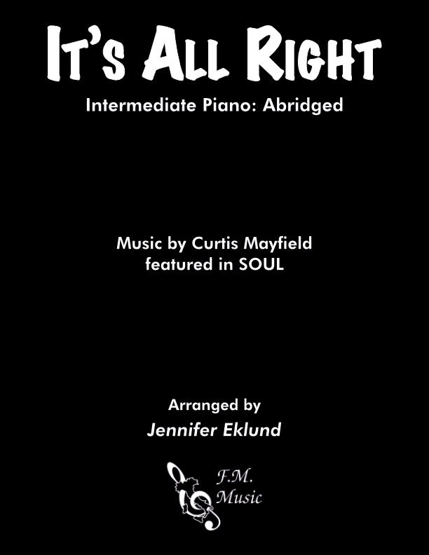 It's All Right (Intermediate Piano)