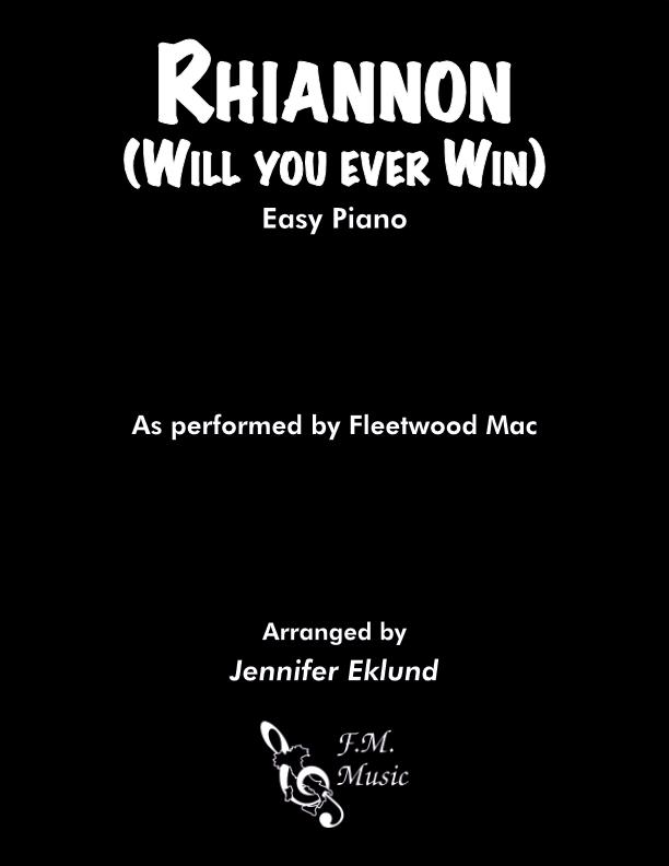 Rhiannon (Easy Piano)