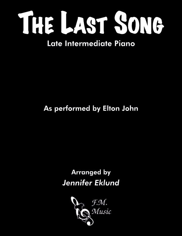 The Last Song (Late Intermediate Piano)
