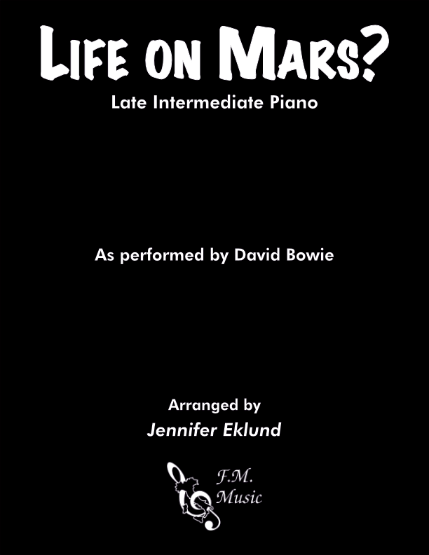 Life on Mars (Late Intermediate Piano)