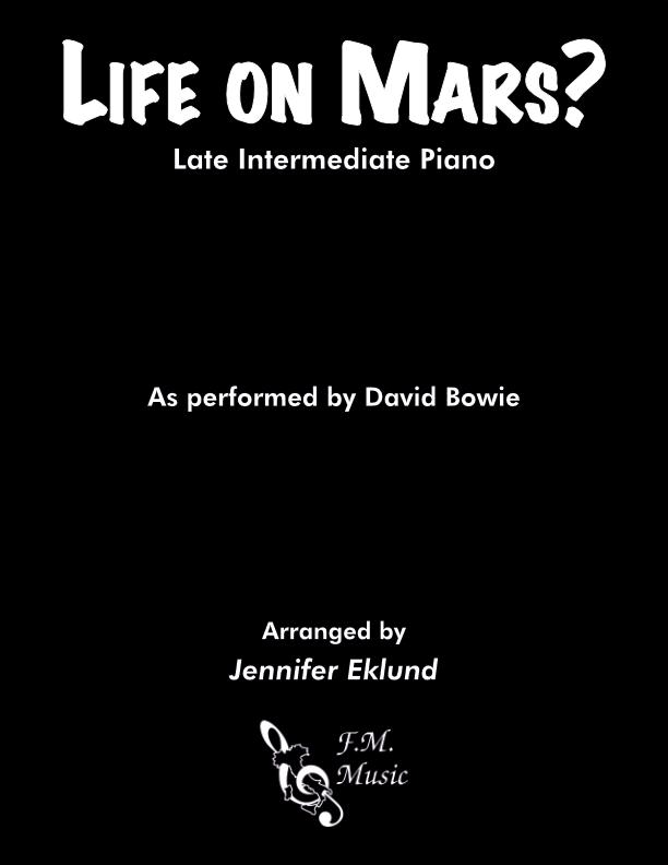 Life on Mars (Late Intermediate Piano)