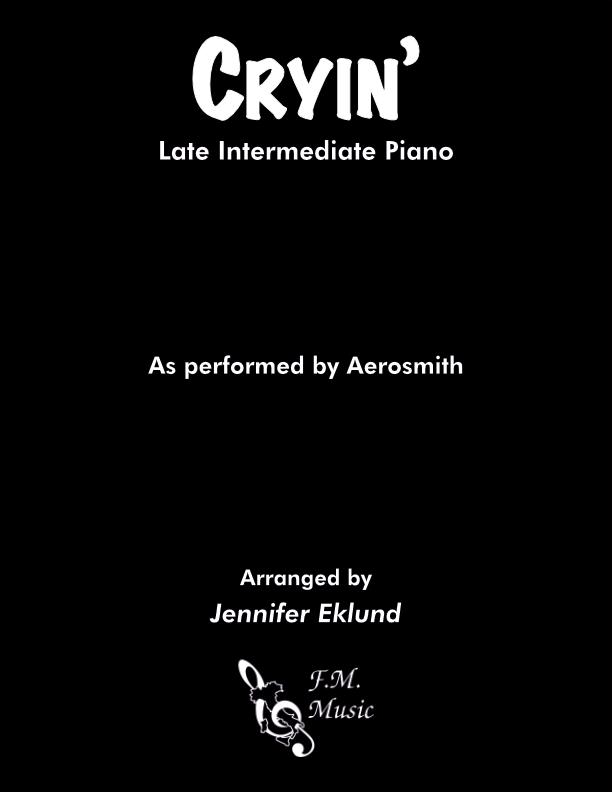 Cryin' (Late Intermediate Piano)