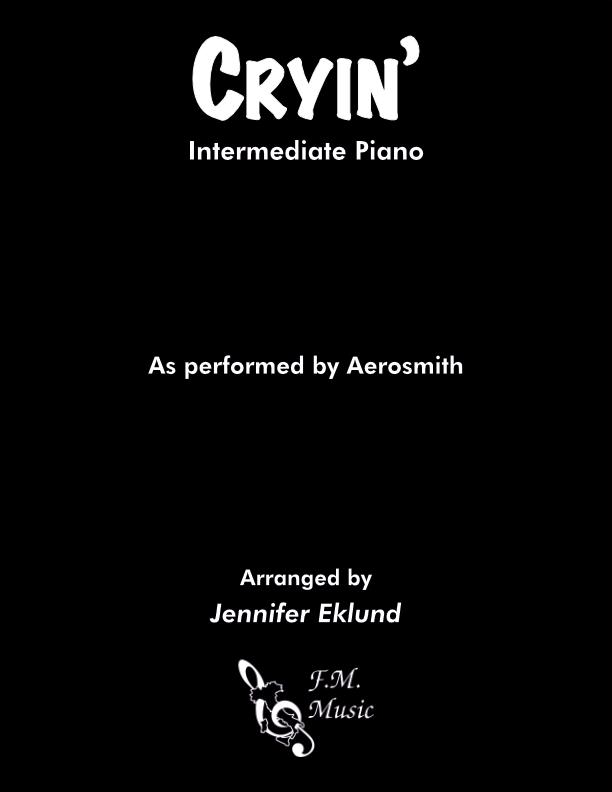 Cryin' (Intermediate Piano)