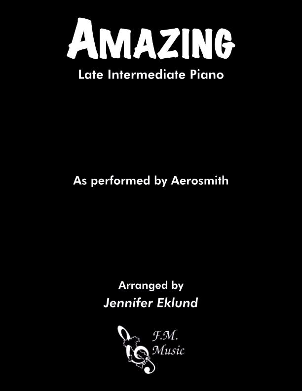 Amazing (Late Intermediate Piano)